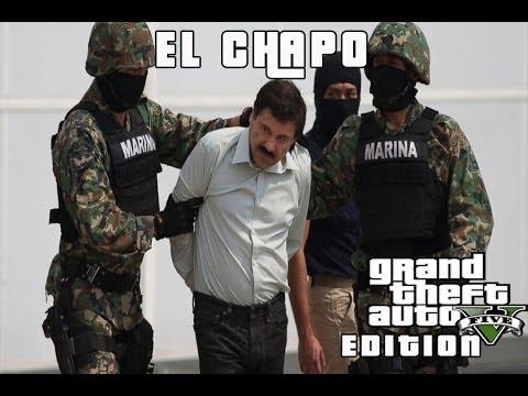 GTA 5 ONLINE - EL CHAPO GUZMAN ARRESTED   GAMEPLAY