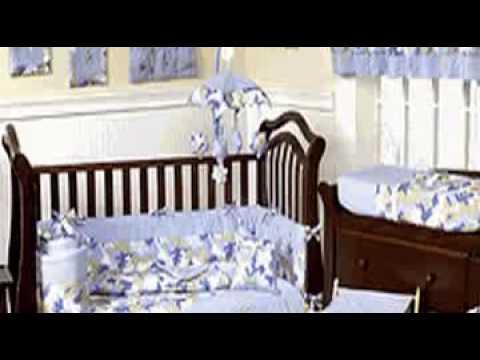 Blue and khaki camouflage baby boy crib bedding set youtube
