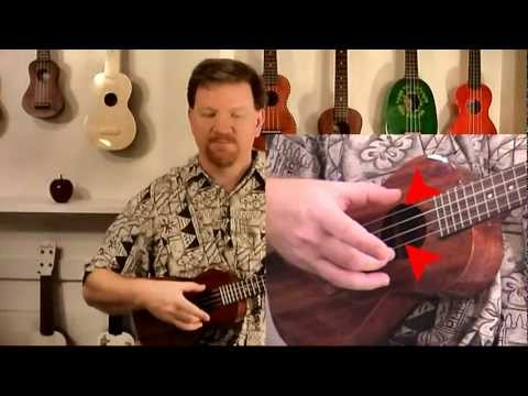 Ukulele Lesson 6 Your 1st Pick The Travis pick UkemanFischer