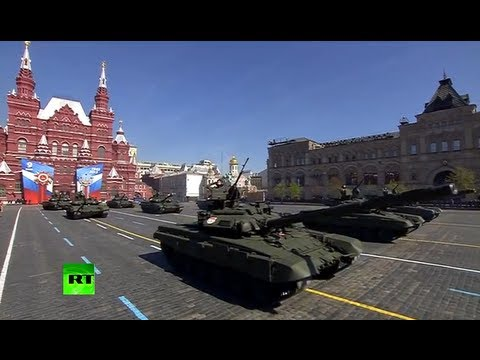 Military Parade in Moscow's Red Square on Victory Day 2013 (FULL HD VIDEO)