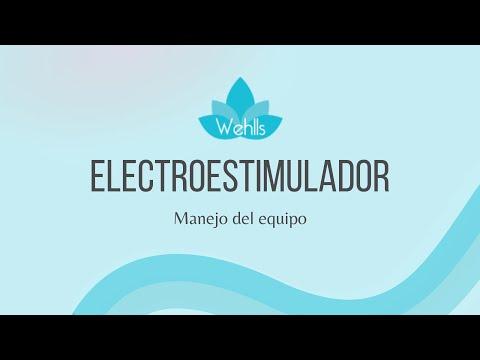 ELECTROESTIMULADOR PROFESIONAL CON ONDAS RUSAS E IONTOFORESIS WEHLLS