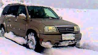 suzuki grand vitara XL7. 4X4.saqartvelo.godogani videos