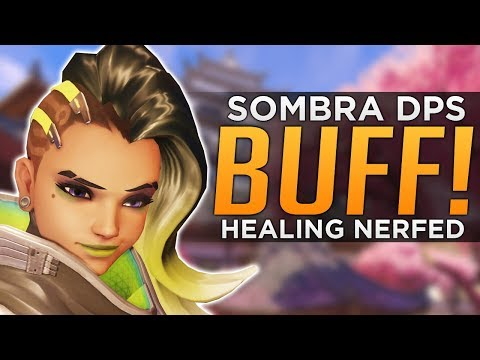 Overwatch: HUGE Sombra DPS BUFF! - Ability Reworks!