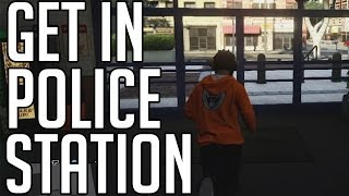GTA5 How To Get In Police Station Online (EC)