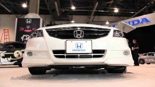 Modified 2012 Honda Civics - SEMA Show 2011 videos