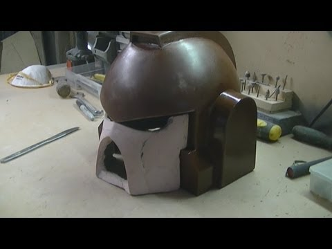 space marine helmet update