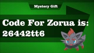 Pokemon Tower Defense 2: Mystery Gift Code For Zorua PTD