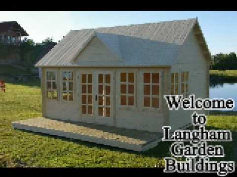 Log Cabins Wooden And Concrete Garages Log Cabins Wooden