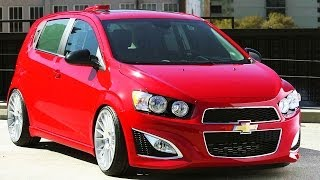 Talking Chevrolet Sonic Builds At The 2013 SEMA Show! Wide