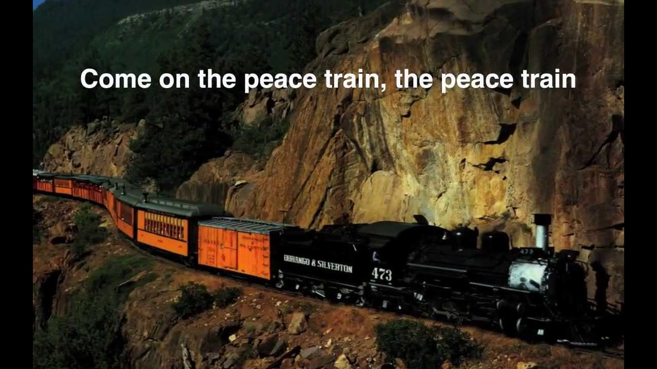 Peace Train Lyrics Cat Stevens Youtube