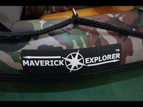 The New MAVERICK EXPLORER Wild Camp/Bushcraft/Prep/Fishing CANOE