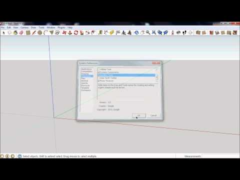 Sketchup 8 - Sandbox Tools - Finding the Tools