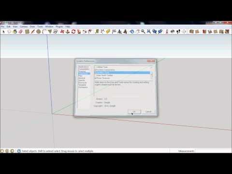 Sketchup 8 - Sandbox Tools - Finding the Tools