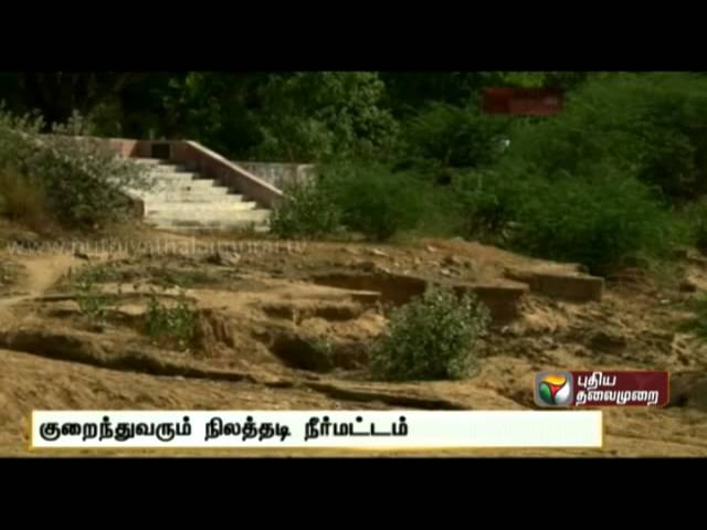 Sand theft at Nambiyar River, Tirunelveli