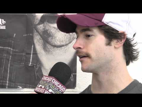 Movember with the Chicago Wolves