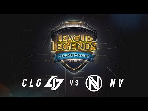 CLG vs. NV - Day 2 Game 5 | NA LCS Summer Split Quarterfinals | CLG vs. Team Envy (2017)