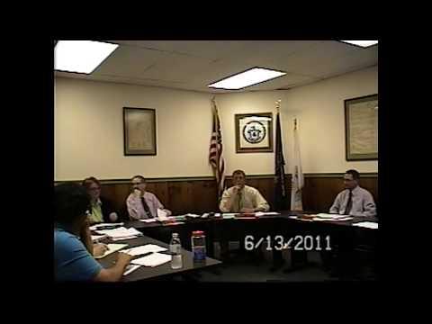 Champlain Village Board Meeting 6-13-11