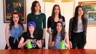 Cup Song Grupo CIMORELLI (Usando Copo Como Instrumento