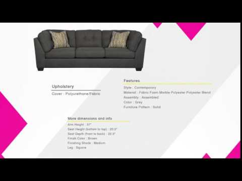 Delta City - Steel Wood Fabric Sofa | The Classy Home