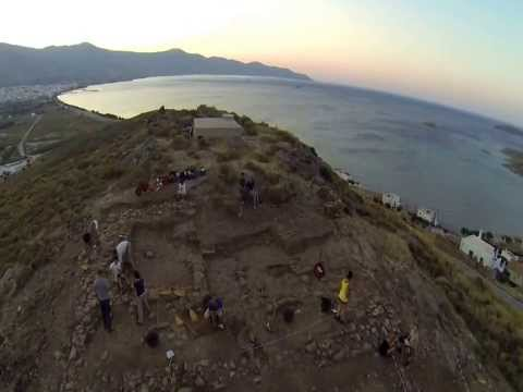 Quadrocopter view of Plakari hilltop (by Dimitris Bastis)