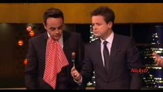 Ant & Dec on The Jonathan Ross Show (ft. Gino D'Acampo & Tim Roth)