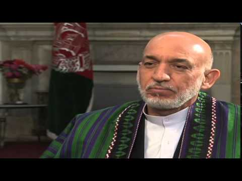 Pres. Karzai: US Played Politics with Afghans