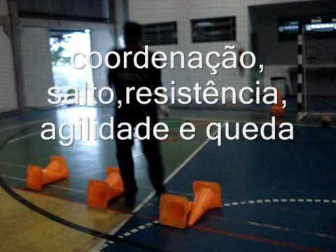 5) TREINAMENTO GOLEIRO FUTSAL GOALKEEPER TRAINING( PROFESSOR TIAGO PONTES)