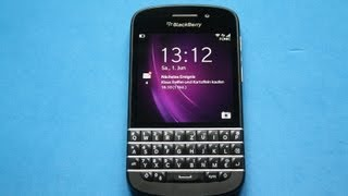 BlackBerry Q10 - Full Review deutsch