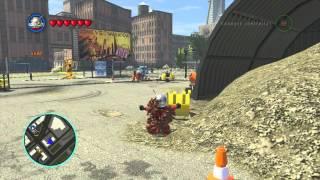 LEGO Marvel Superheroes Ant Man Gameplay And Unlock