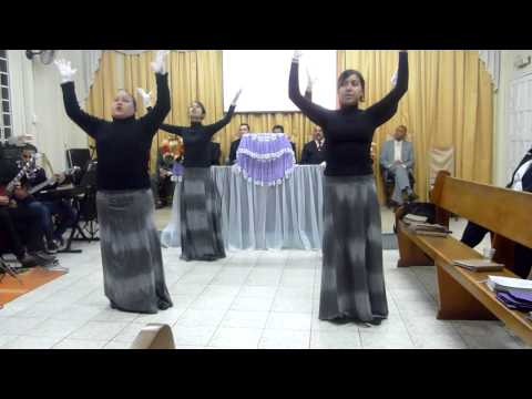 coreografia adonai tempo de deus gislaine e mylena