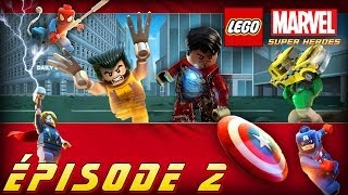 Épisode 2 Black-out à Time Square [Série] LEGO Marvel