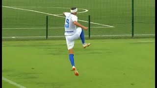 HIGHLIGHTS U17   Inter-Atalanta 1-0: Amazing olympic goal!   Inter Football Academy