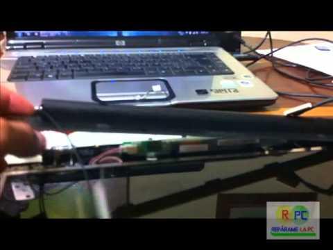 Cambiar Display Compaq Presario C700 segunda parte