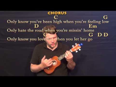 let her go ukulele chords pdf