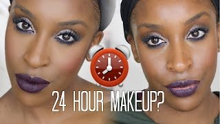 Testing 24 Hour Makeup for 24 HOURS!!!