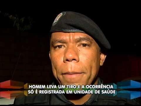 Homem chega baleado na UAI Planalto