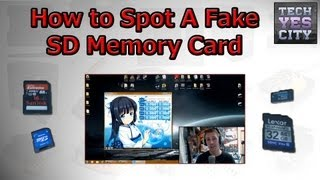 How To Spot A Fake Memory Card (ANY SD / MicroSD / CF / XD