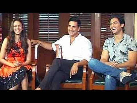 Akshay Kumar, Aditi, Shiv in conversation about their latest movie Boss