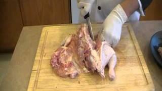 Como deshuesar un pollo