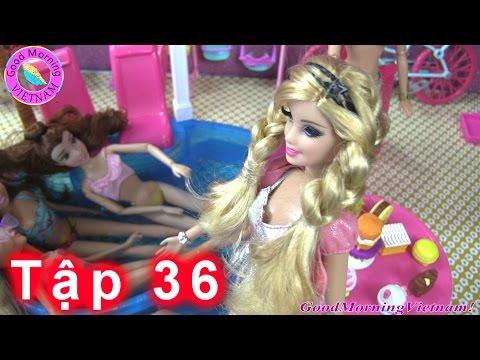 ✿Cuộc Sống Barbie & Ken (Tập 36) Tiệc Hồ Bơi Của Barbie Mừng Summer Khỏi Bệnh ✿Barbie Pool Party