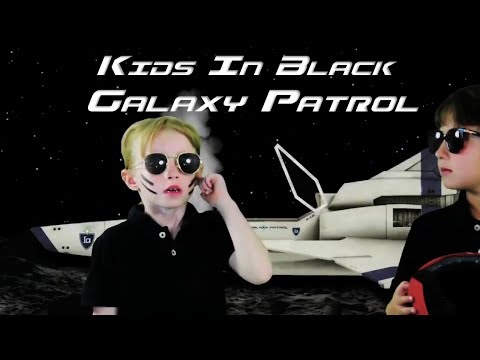 Miniatura del vídeo KIDS IN BLACK  Galaxy Patrol  The Movie