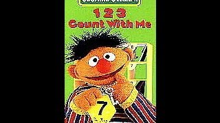 Closing To Sesame Street:123 Count With Me 1997 VHS