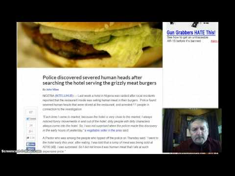 Hotel Restaurant Caught Selling Human Burgers? Zombie Apocalypse!