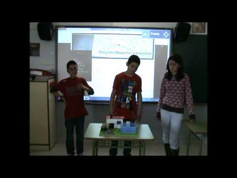 Proyecto maquetas y máquinas: Casa con piscina