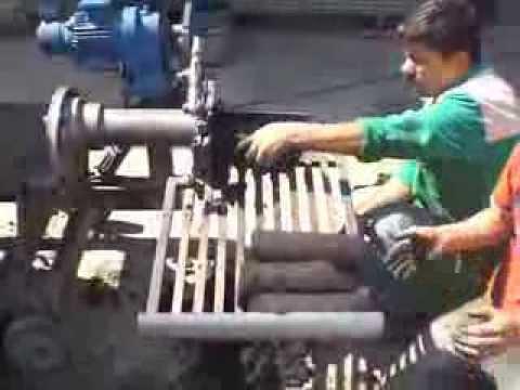 Olive Pomace Press, Prina Odun Makinası