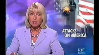 Ireland's RTE News Live Coverage Of September 11th 2001