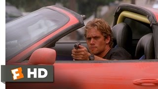 The Fast And The Furious (9/10) Movie CLIP Chasing The