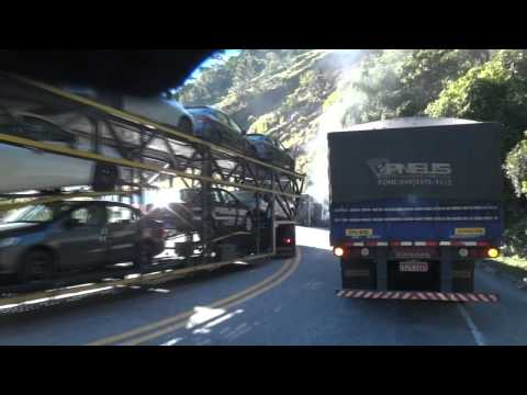 Campinas/Ubatuba - 20.07.2012 - Alta Definição + Novo suporte + Acidente na Rodovia dos Tamoios