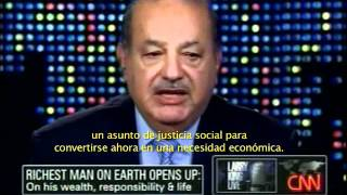 Larry King Entrevistó Al Ing. Carlos Slim En Su Programa