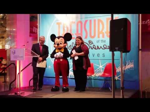 'Treasures of the Walt Disney Archives' Chicago Exhibit Opening Ceremony
